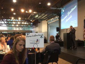 The Renton Prep Table at business award 2016