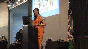business award 2016 Dr. Michelle Zimmerman