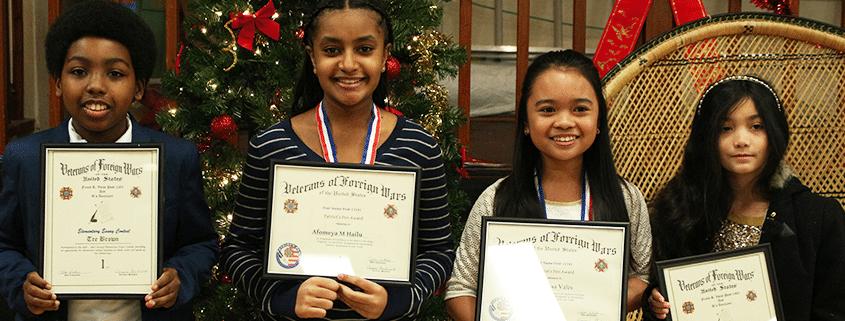 Renton Prep Students Win Essay Contest