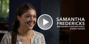 Renton Story: Teacher, Samantha Fredericks