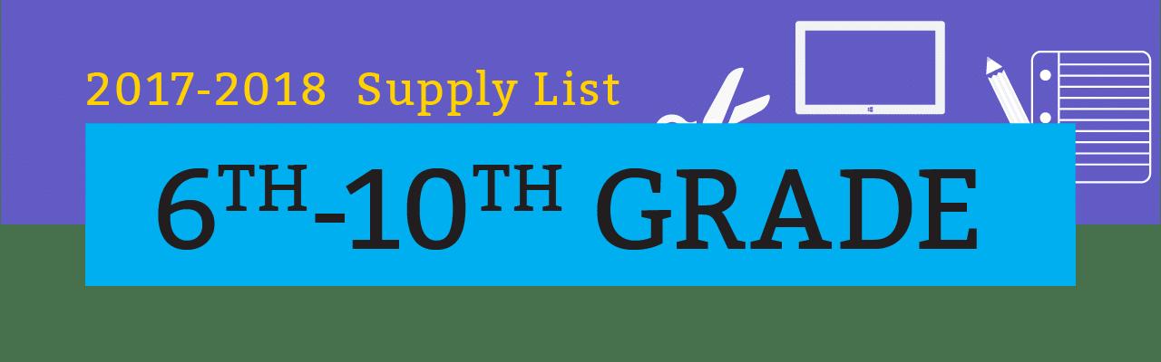 RPCS 6th-10th grade