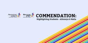Renton Prep Commendation: Highlighting Students - Afomeya & Malia
