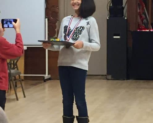 VFW holding award