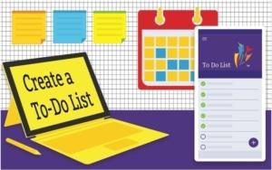 Renton Prep - create a to do list
