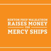 Renton Prep Walkathon Raises Money for Mercy Ships