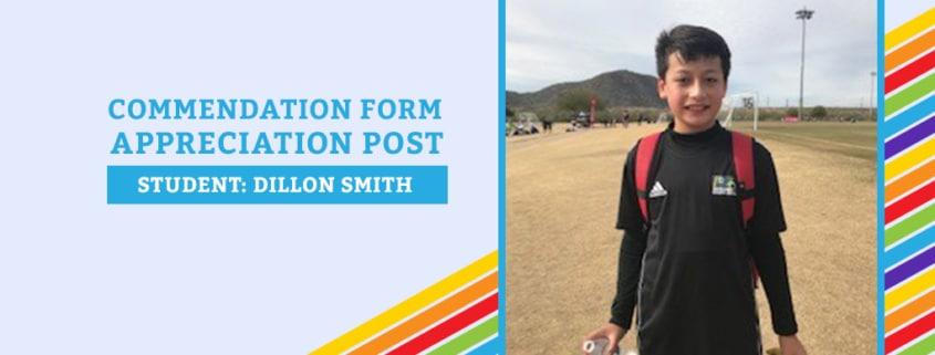 Commendation Form Dillon Smith