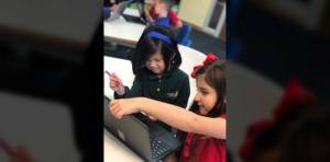 Renton Prep Commendation Highlighting Students Sharice Lee & Aubree Martinez