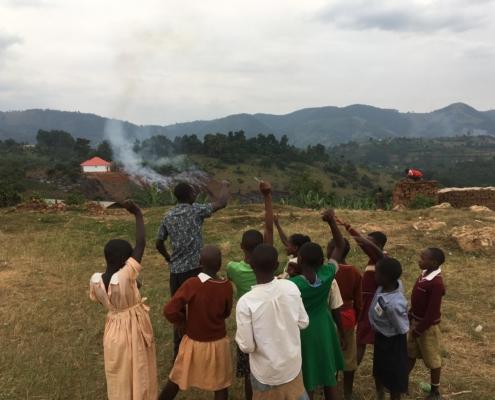 Science Lesson in Uganda
