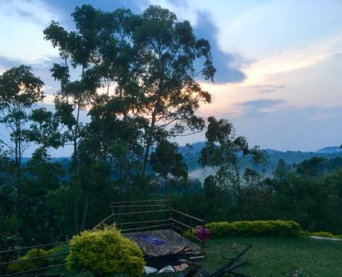 Teacher lodge in Uganda